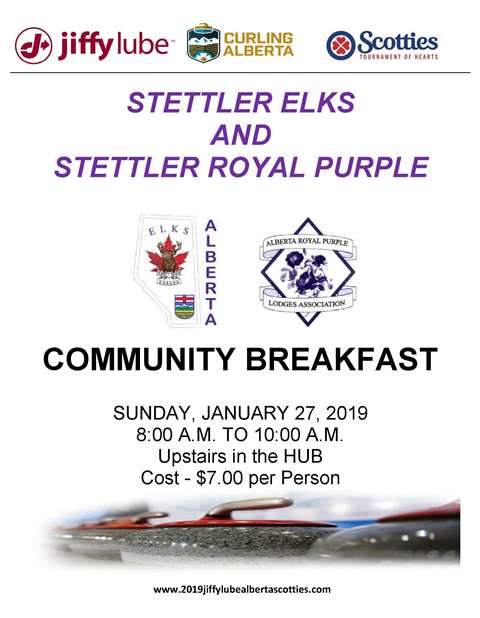 Stettler Elks Breakfast